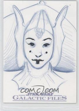 2012 Topps Star Wars Galactic Files - Sketch #1 - [Missing] /1