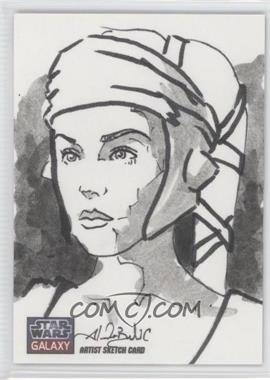 2012 Topps Star Wars Galaxy Series 7 - Sketch Cards #1 - [Missing] /1
