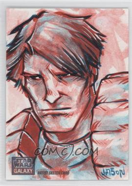 2012 Topps Star Wars Galaxy Series 7 - Sketch Cards #N/A - Dash Rendar (Jason Keith Phillips) /1