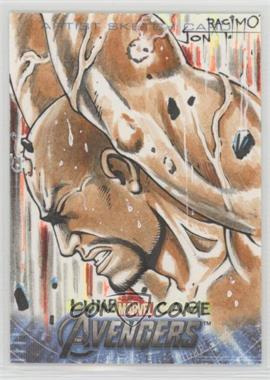 2012 Upper Deck Avengers Assemble - Art Sketch Cards #JORA.2 - Jon Racimo (Luke Cage) /1