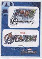 Captain America, Thor, Iron Man, Hulk