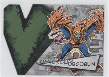 2012 Upper Deck Marvel Beginnings Series 3 - Villains Die-Cuts #V-14 - Hobgoblin
