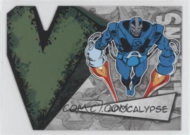 2012 Upper Deck Marvel Beginnings Series 3 - Villains Die-Cuts #V-2 - Apocalypse