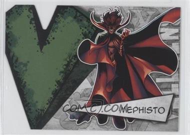 2012 Upper Deck Marvel Beginnings Series 3 - Villains Die-Cuts #V-26 - Mephisto