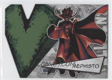 2012 Upper Deck Marvel Beginnings Series 3 - Villains Die-Cuts #V-26 - Mephisto
