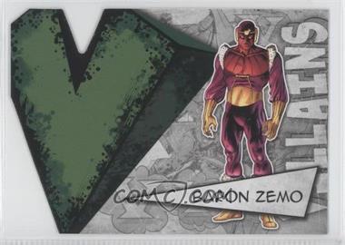 2012 Upper Deck Marvel Beginnings Series 3 - Villains Die-Cuts #V-3 - Baron Zemo