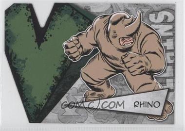 2012 Upper Deck Marvel Beginnings Series 3 - Villains Die-Cuts #V-34 - Rhino