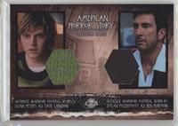 Evan Peters as Tate Langdon, Dylan McDermott as Ben Harmon