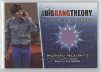 Simon Helberg as Howard Wolowitz