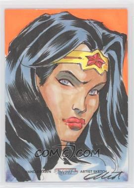 2013 Cryptozoic The Women of Legend - Sketch Cards #UNWW - Unknown Artist (Wonder Woman) /1
