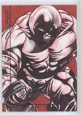 2013 Fleer Marvel Retro - Artist Sketch Cards #1 - [Missing]
