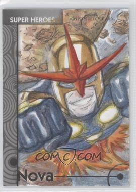 2013 Fleer Marvel Retro - Artist Sketch Cards #29 - [Missing]