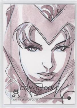 2013 Fleer Marvel Retro - Artist Sketch Cards #N/A - [Missing]