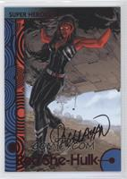 Red She-Hulk (Carlo Pagulayan Autograph)