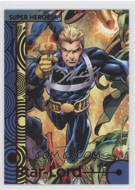 2013 Fleer Marvel Retro - [Base] - Autographs [Autographed] #42 - Star-Lord (Mark Bagley Autograph)