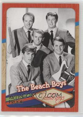 2013 panini beach boys 50th anniversary base artist proof 117 - Beach Boys Christmas