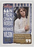 Dennis Wilson /99