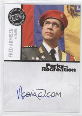 2013 Press Pass Parks and Recreation Seasons 1-4 - Autographs #FA - Fred Armisen as Raul