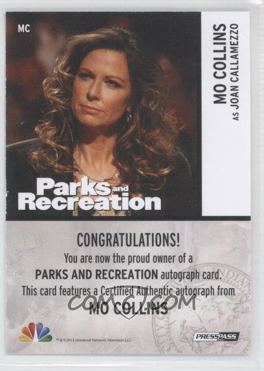 2013 Press Pass Parks and Recreation Seasons 1-4