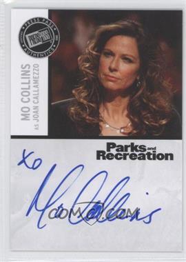 2013 Press Pass Parks and Recreation Seasons 1-4 - Autographs #MC - Mo Collins as Joan Callamezzo