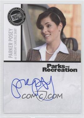 2013 Press Pass Parks and Recreation Seasons 1-4 - Autographs #PP - Parker Posey as Lindsay Carlisle Shay