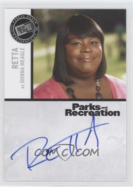 2013 Press Pass Parks and Recreation Seasons 1-4 - Autographs #R - Retta as Donna Meagle