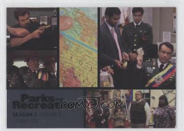2013 Press Pass Parks and Recreation Seasons 1-4 - [Base] - Foil #11 - Season 2, Episode 5 - Sister City