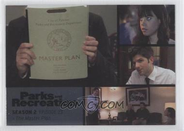 2013 Press Pass Parks and Recreation Seasons 1-4 - [Base] - Foil #29 - Season 2, Episode 23 - The Master Plan