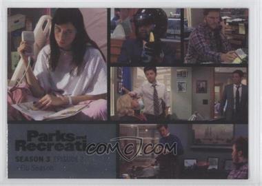 2013 Press Pass Parks and Recreation Seasons 1-4 - [Base] - Foil #32 - Season 3, Episode 2 - Flu Season