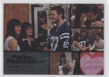2013 Press Pass Parks and Recreation Seasons 1-4 - [Base] - Foil #39 - Season 3, Episode 9 - Andy and April's Fancy Party