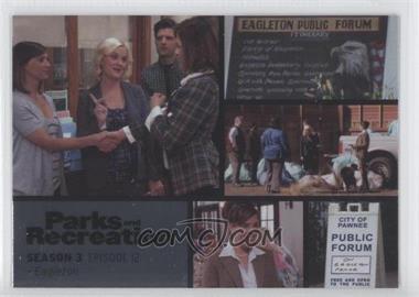 2013 Press Pass Parks and Recreation Seasons 1-4 - [Base] - Foil #42 - Season 3, Episode 12 - Eagleton