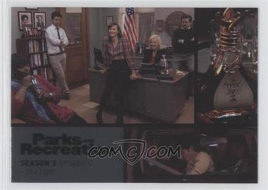 2013 Press Pass Parks and Recreation Seasons 1-4 - [Base] - Foil #43 - Season 3, Episode 13 - The Fight