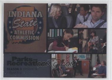2013 Press Pass Parks and Recreation Seasons 1-4 - [Base] - Foil #44 - Season 3, Episode 14 - Road Trip