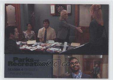 2013 Press Pass Parks and Recreation Seasons 1-4 - [Base] - Foil #48 - Season 4, Episode 2 - Ron and Tammys
