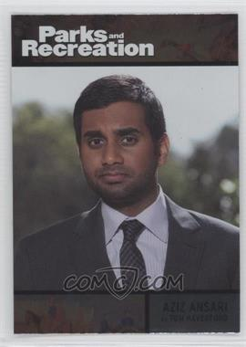 2013 Press Pass Parks and Recreation Seasons 1-4 - [Base] - Foil #71 - Aziz Ansari as Tom Haverford
