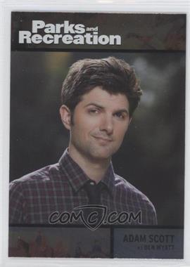 2013 Press Pass Parks and Recreation Seasons 1-4 - [Base] - Foil #77 - Adam Scott as Ben Wyatt