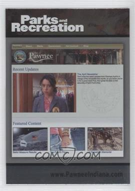 2013 Press Pass Parks and Recreation Seasons 1-4 - [Base] - Foil #80 - City of Pawnee website