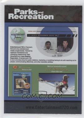2013 Press Pass Parks and Recreation Seasons 1-4 - [Base] - Foil #84 - Entertainment 720