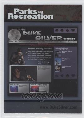 2013 Press Pass Parks and Recreation Seasons 1-4 - [Base] - Foil #88 - Duke Silver