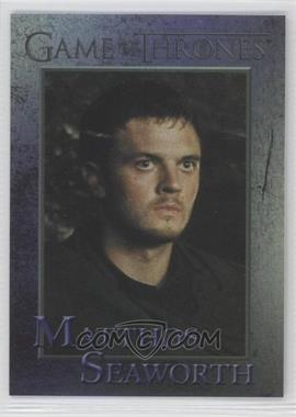 2013 Rittenhouse Game of Thrones Season 2 - [Base] - Foil #77 - Matthos Seaworth