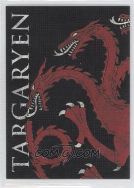 2013 Rittenhouse Game of Thrones Season 2 - Family Sigil Map #H4 - Targaryen