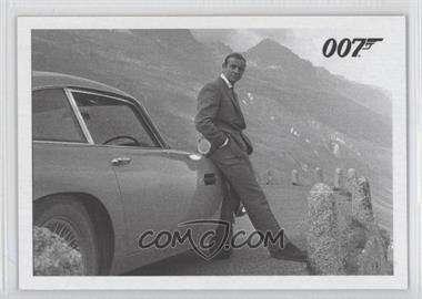 2013 Rittenhouse James Bond: Artifacts & Relics - Goldfinger Throwbacks #036 - Oddjob stops by the roadside...