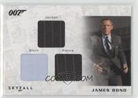 James Bond's Jacket, shirt, and pants #/200