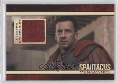 2013 Rittenhouse Spartacus: Vengeance Premium Packs - Relics #N/A - Glaber's Undershirt