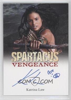 2013 Rittenhouse Spartacus: Vengeance Premium Packs - Vengeance Autographs #KALA - Katrina Law as Mira