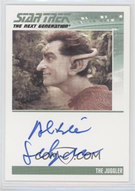 2013 Rittenhouse Star Trek The Next Generation: Heroes & Villains - Autographs #ALSE - Albie Selznick as The Juggler