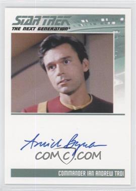 2013 Rittenhouse Star Trek The Next Generation: Heroes & Villains - Autographs #AMBY - Amick Byram, Commander Ian Andrew Troi