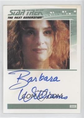 2013 Rittenhouse Star Trek The Next Generation: Heroes & Villains - Autographs #BAWI - Barbara Williams as Anna [Noted]