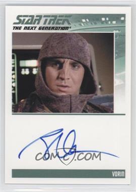 2013 Rittenhouse Star Trek The Next Generation: Heroes & Villains - Autographs #BRMA - Brian Markinson as Vorin