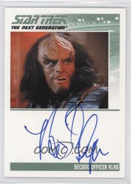 2013 Rittenhouse Star Trek The Next Generation: Heroes & Villains - Autographs #BRTH - Brian Thompson as Second Officer Klag